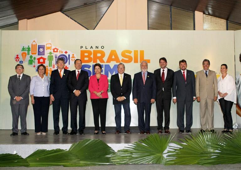 Resultado de imagem para Presidenta Dilma lança o Plano Brasil Sem Miséria no Nordeste