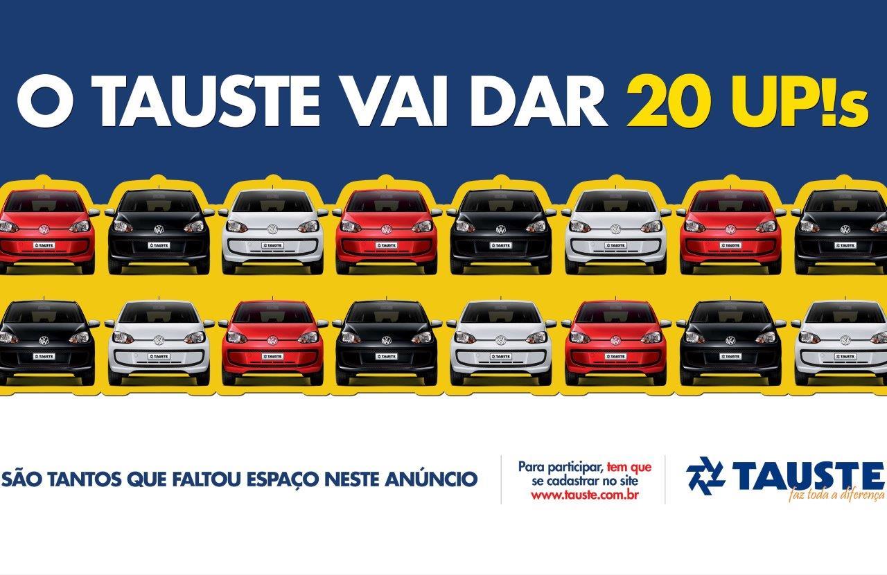 Rede Tauste vai sortear 20 carros UP! f3506c3403418