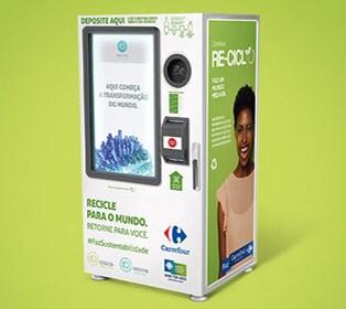 08a9e66dc Carrefour instala máquinas de reciclagem que geram desconto em ...