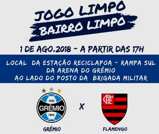 2a34d2b0462 Prefeitura de Porto Alegre realiza ação socioambiental na arena do Grêmio