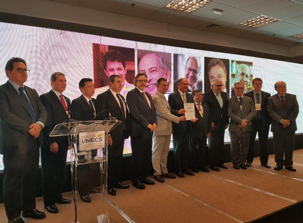 fce2add86e UNECS realiza Diálogo com os candidatos à Presidência da República em  Brasília