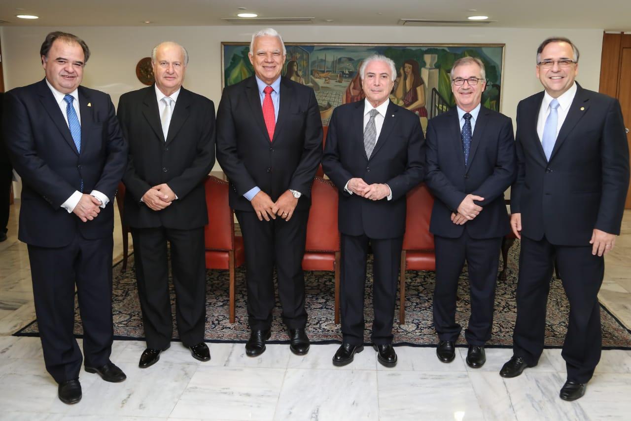 O presidente Michel Temer confirmou participação no jantar de comemoração  dos 50 anos da Associação Brasileira de Supermercados (ABRAS) 8568a90f4a384