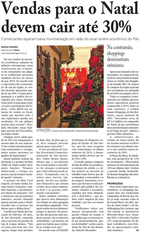 Vendas para o Natal devem cair até 30% 095a6aa534b