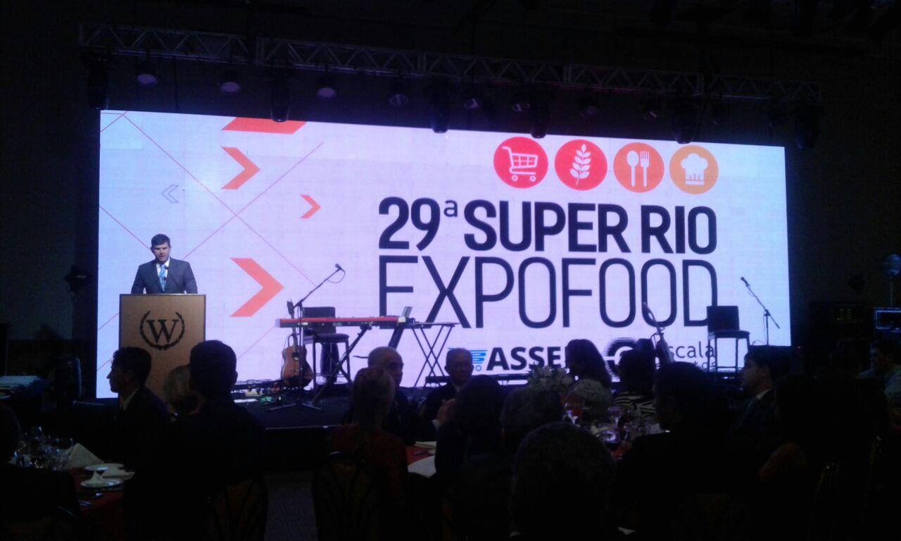9c253a7e4 ASSERJ realiza jantar de abertura da 29ª Super Rio Expofood