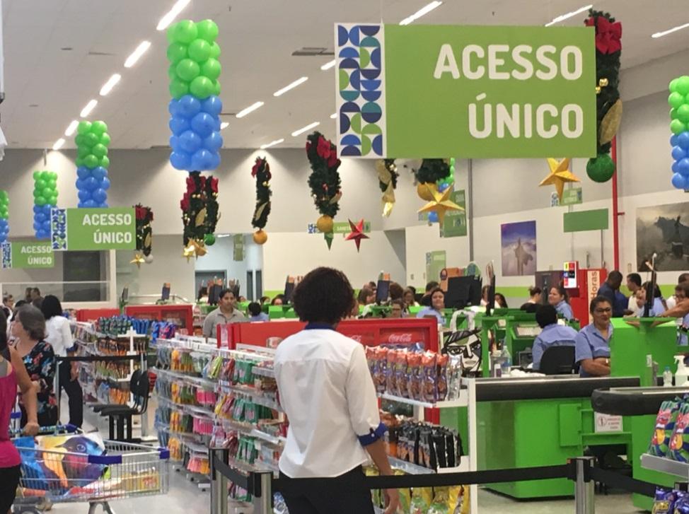 7e48b2b6c Prezunic reinaugura loja com novidades para clientes