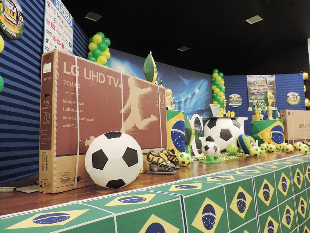 Supermercados Jaú Serve comemora o sucesso da promoção o