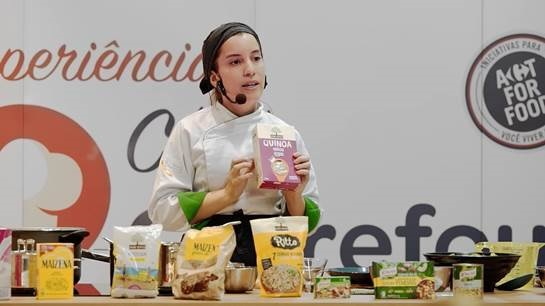 Carrefour cria cozinha itinerante que ensinará nas lojas receitas sau... 9c1d0c9e169f7
