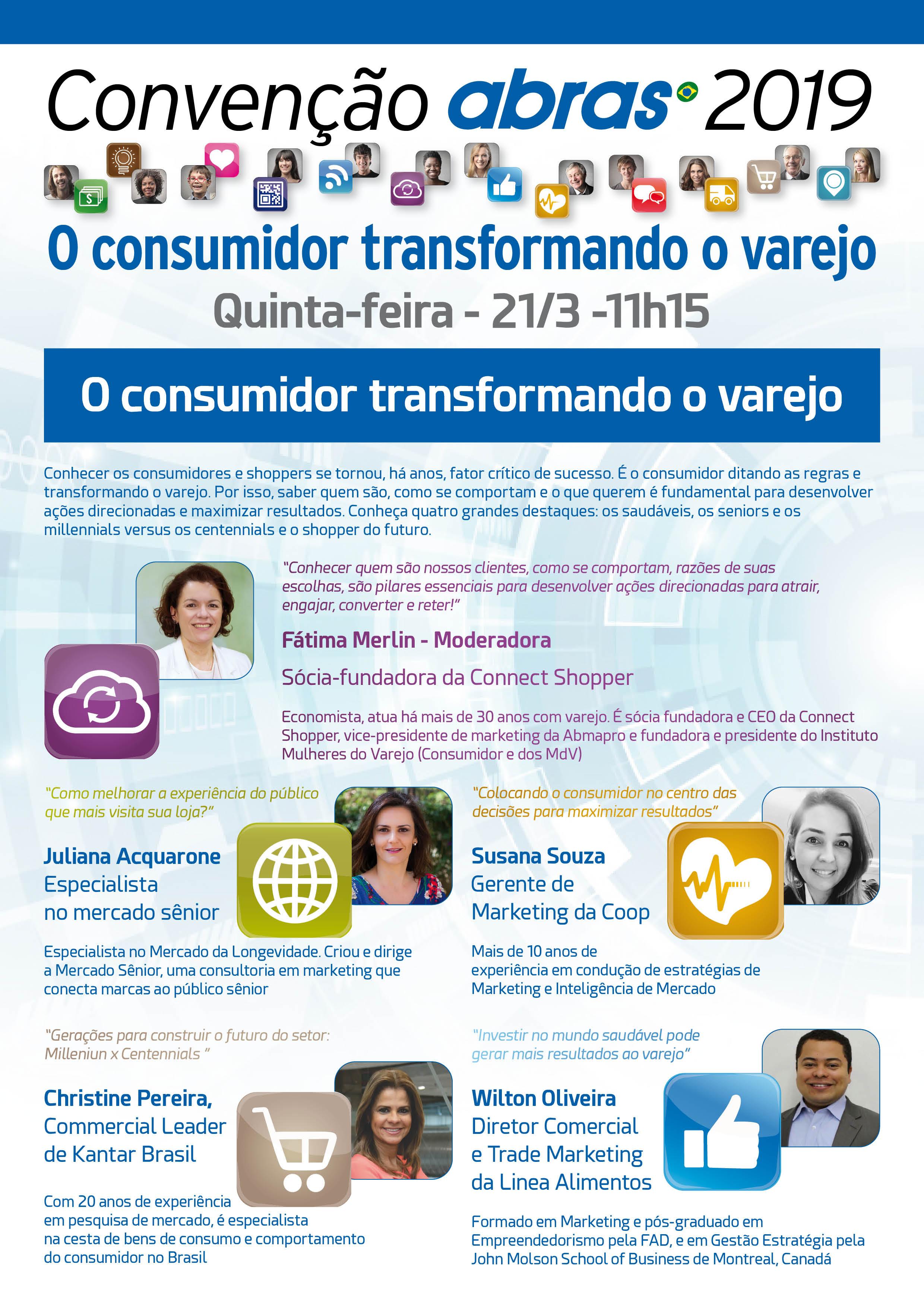 7dbf81a6b Painel do dia 21 de março debaterá tema central da Convenção ABRAS 2019