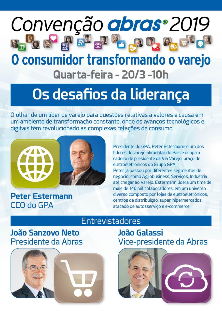 3bf685cbf CEO do GPA falará dos desafios da liderança na 53ª Convenção ...